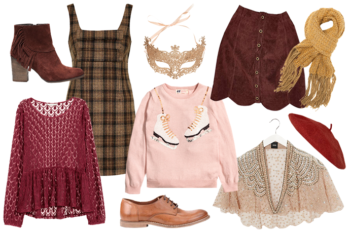 Retromantisch retro fashion blog Invito H&M Urban Outfitters Asos King Louis Topshop Sacha romantic wishlist Christmas vintage