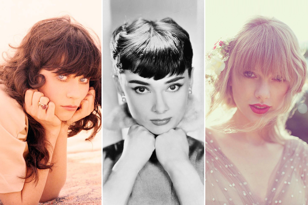 Retromantisch retro romantic fashion blog bangs Zooey Deschanel Ellen von Unwerth Lula Taylor Swift Audrey Hepburn fringe