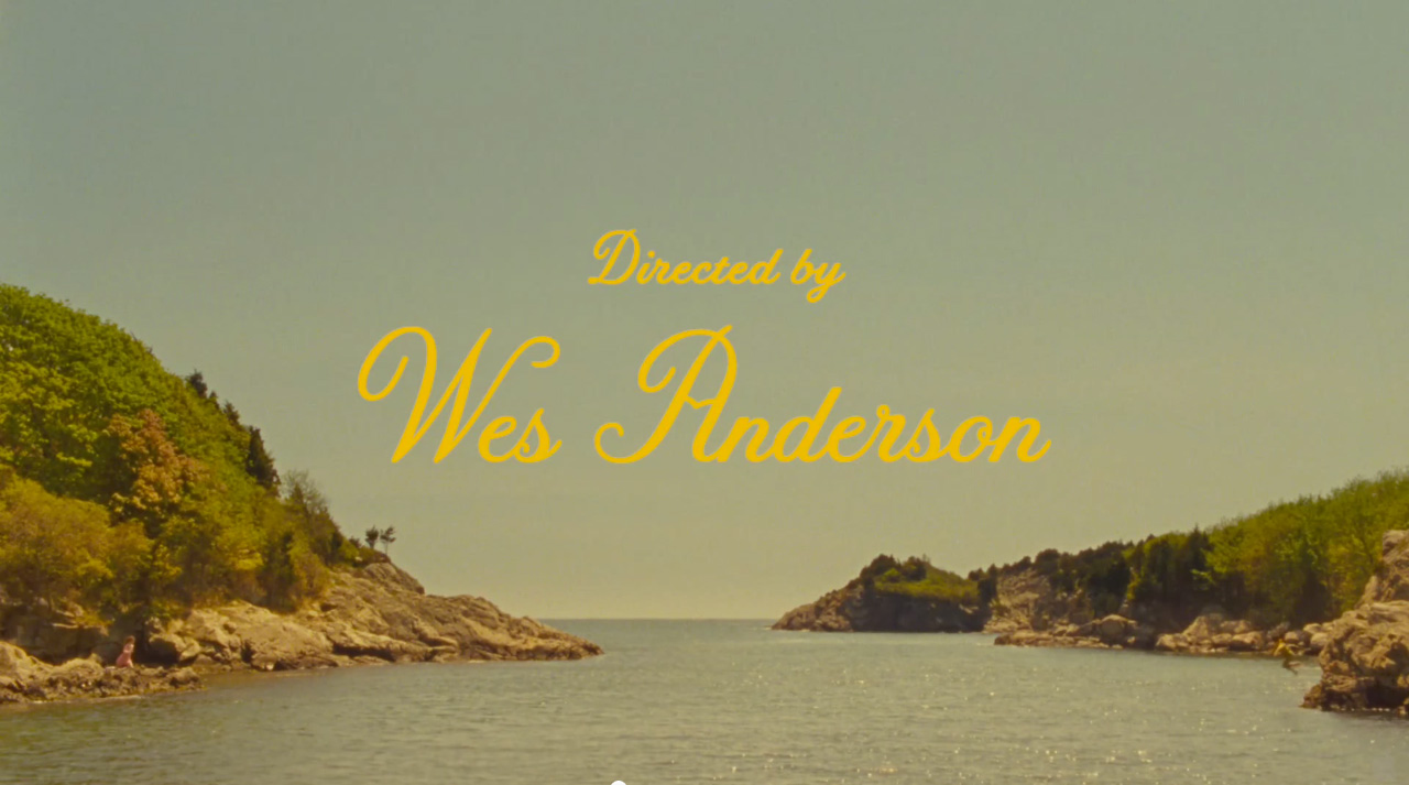 Retromantisch Moonrise Kingdom directed by Wes Anderson