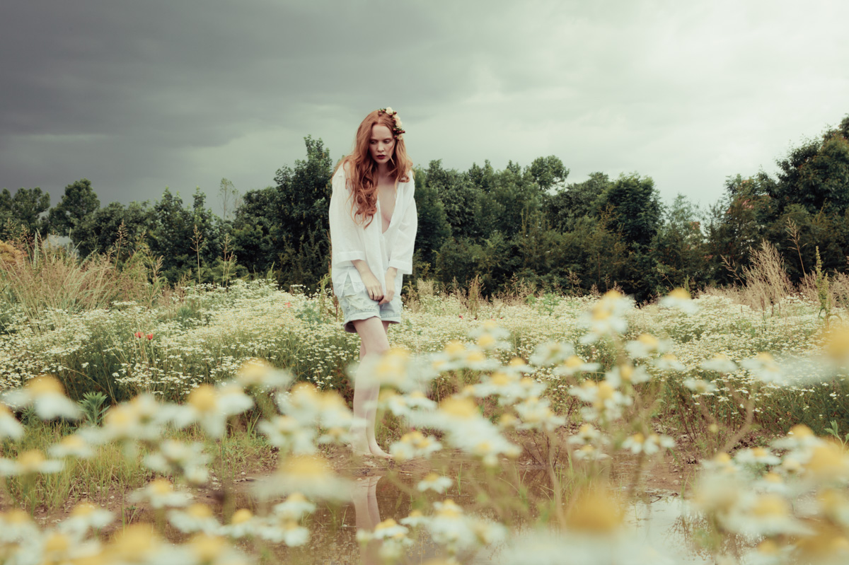 Retromantisch monia merlo photography so full of dreams Erika Cavallini SS 2014 Elizabeth Kinnear
