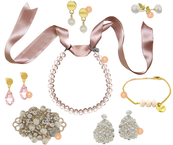Retromantisch retro fashion blog DRKS sieraden jewellery wishlist