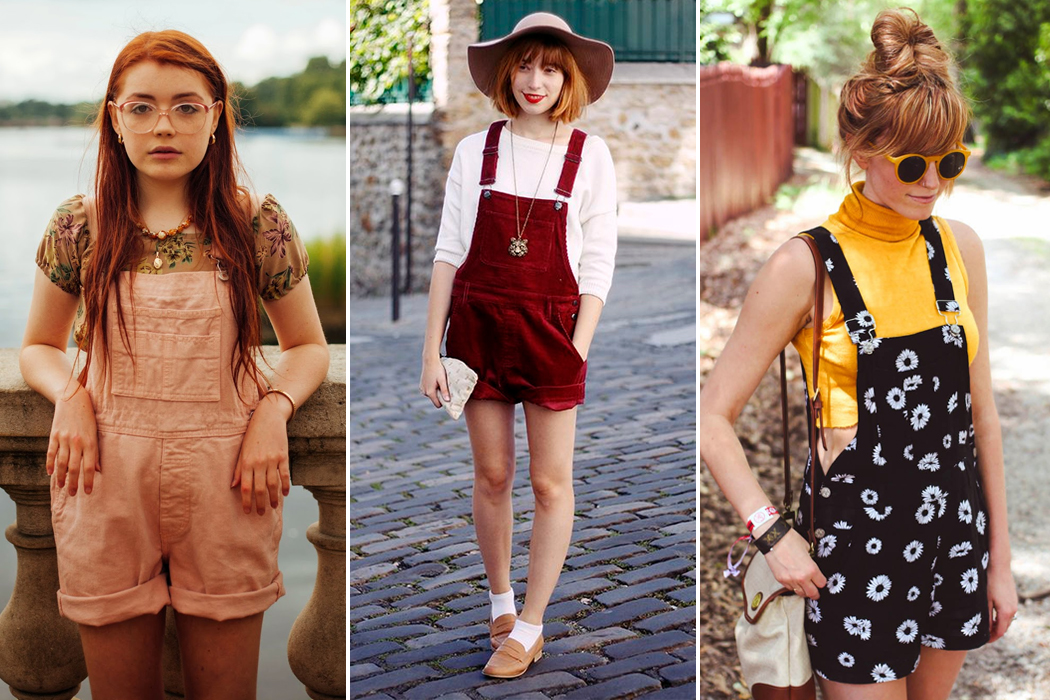 Retromantisch retro romantic fashion blog overalls overall jumpsuit playsuit dungaree dungarees how to wear style tuinbroek